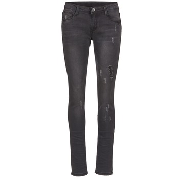 Clothing Women slim jeans Yurban EVIGUILE Black