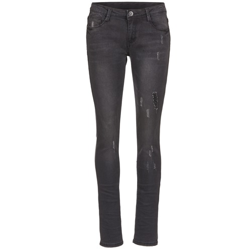 Clothing Women slim jeans Yurban IETOULETTE Black