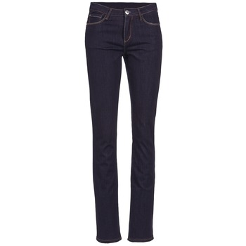 Clothing Women straight jeans Yurban ESQUANE Blue / Dark