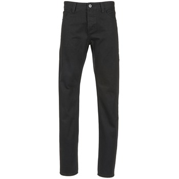 Clothing Men straight jeans Yurban EDABALO Black
