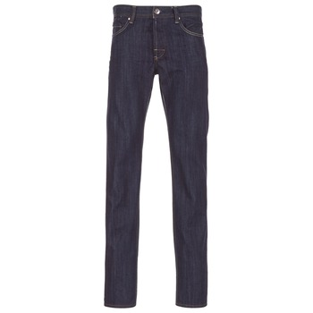 Clothing Men straight jeans Yurban EVIO Blue / Raw