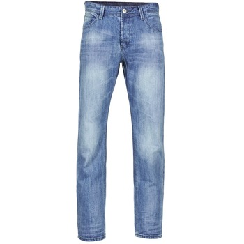 Clothing Men straight jeans Yurban IEDABALO Blue / Clear