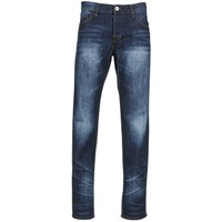 Clothing Men straight jeans Yurban EBOLUIE Blue / Dark