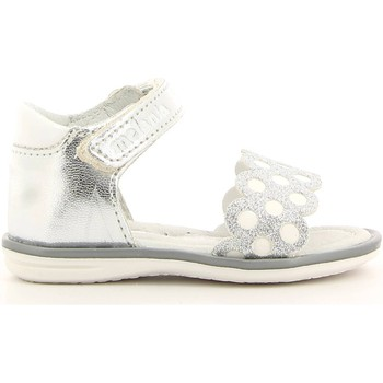 Shoes Girl Sandals Melania ME8058B6E.A Sandals Kid Argento