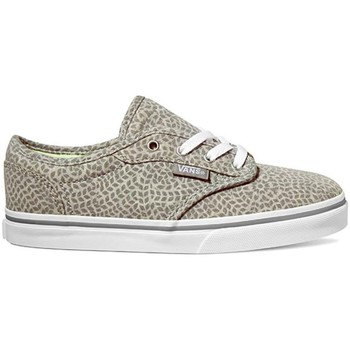 Shoes Children Skate shoes Vans Atwood Low Jersey Grey