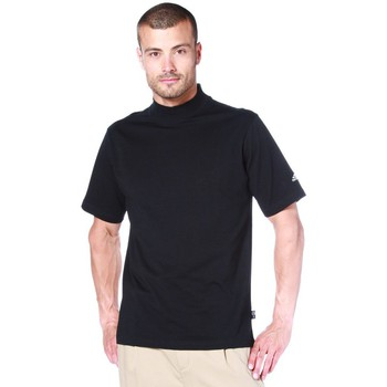 adidas  Tshirt M CI Jsy SS Mock  mens T shirt in black