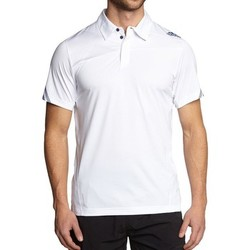 Clothing Men short-sleeved polo shirts adidas Originals Adizero Wimby Polo White