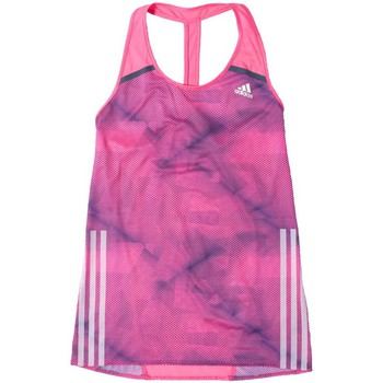 Clothing Women Tops / Sleeveless T-shirts adidas Originals AZ Sgl Pink