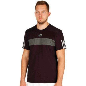 Clothing Men short-sleeved t-shirts adidas Originals Barricade Tee Burgundy