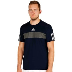 Clothing Men short-sleeved t-shirts adidas Originals Barricade Tee Navy blue