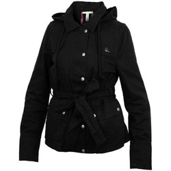 Clothing Women Parkas adidas Originals ST Jckt Neo Black