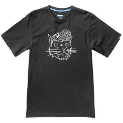 Clothing Men short-sleeved t-shirts adidas Originals Shred Kitty Black