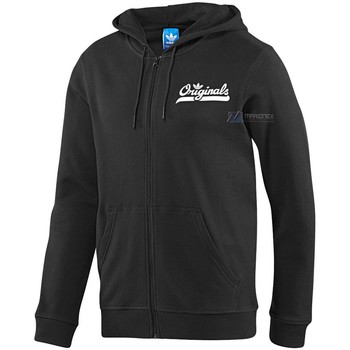 adidas  Graphic Hoodie  mens Sweatshirt in Black