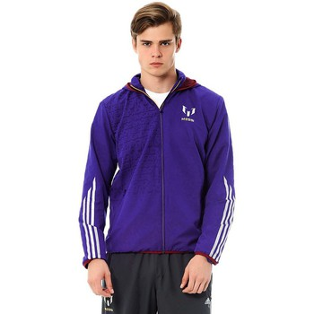 adidas  F50 Messi Wov Jkt  mens Sweater in Purple