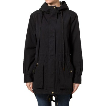 Clothing Women Parkas adidas Originals Cas Woven Parka Black