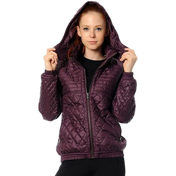 Clothing Women Jackets adidas Originals J Quilt Jacket Violet