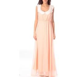 Clothing Women Long Dresses Aggabarti Robe Claudine 121013 Orange