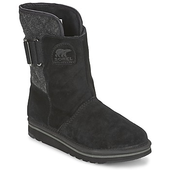 Shoes Women Mid boots Sorel NEWBIE Black