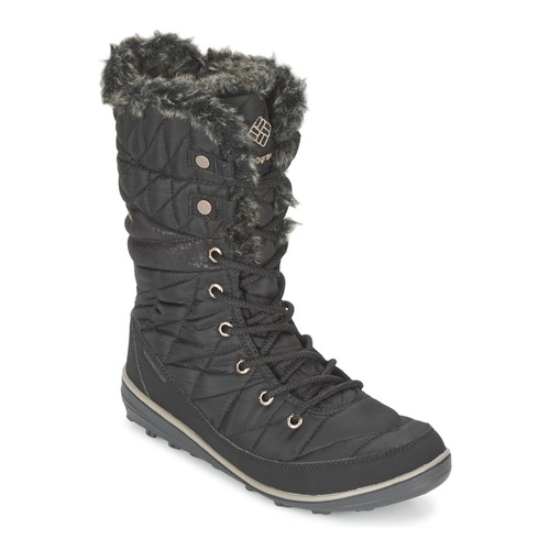 Shoes Women Snow boots Columbia HEAVENLY OMNI HEAT Black