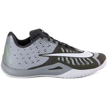 Shoes Men Basketball shoes Nike HIPERLIVE Grigio