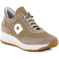 Shoes Women Low top trainers Rucoline TECNO SOFT Beige
