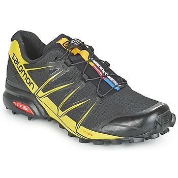Shoes Men Running shoes Salomon SPEEDCROSS PRO Black / Yellow