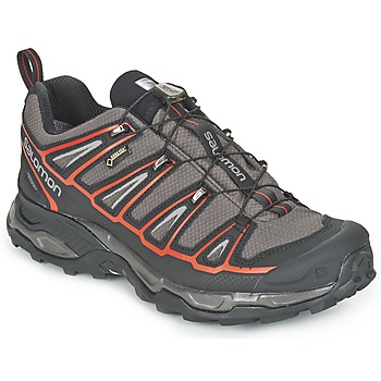 Shoes Men Walking shoes Salomon X ULTRA 2 GTX® Grey / Black / Red