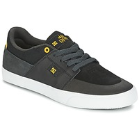 Shoes Men Low top trainers DC Shoes WES KREMER Black / Grey / Yellow