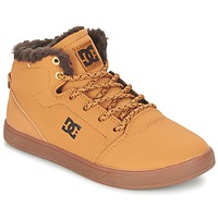 Shoes Children Hi top trainers DC Shoes CRISIS HIGH WNT B SHOE WD4 Wheat / CHOCOLATE