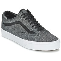 Shoes Women Low top trainers Vans OLD SKOOL Black / Faded