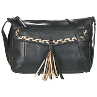 Bags Women Shoulder bags Pieces POFO LEATHER Black