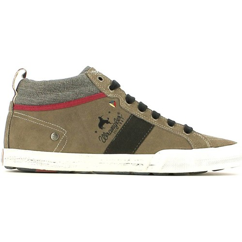 Shoes Men Hi top trainers Wrangler WM152141 Sneakers Man Taupe Taupe