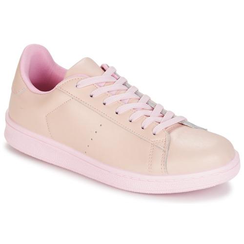 Shoes Women Low top trainers Yurban EZIME Pink