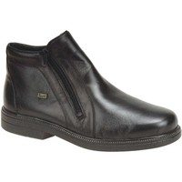 Mid boots Rieker Robin Black Leather Casual Ankle Boots