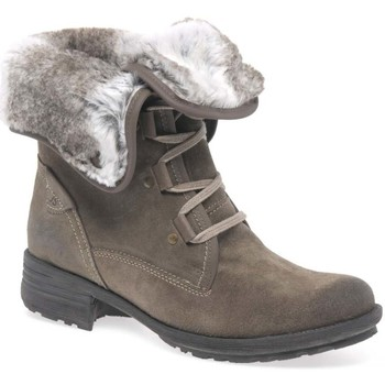 Josef Seibel  Sally Fur Lined Womens Ankle Boots  womens Mid Boots in BEIGE