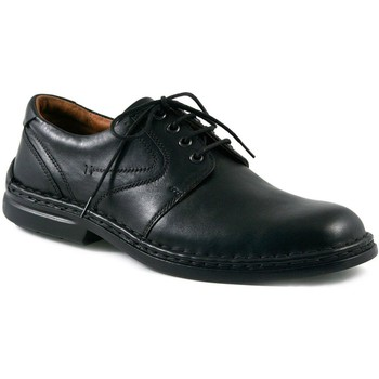 Shoes Men Derby Shoes Josef Seibel Walt Leather Mens Lace Up Smart Shoes black
