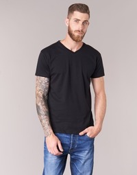 Clothing Men short-sleeved t-shirts BOTD ECALORA Black