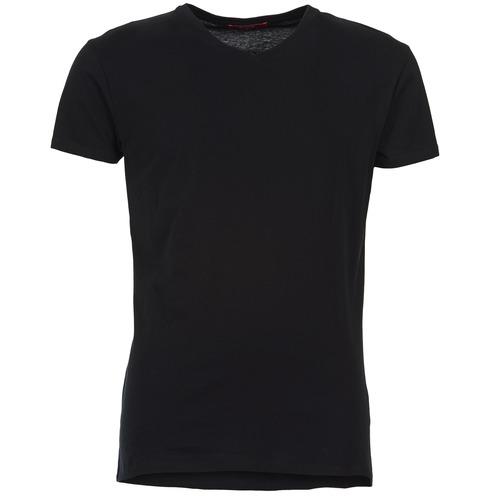 Clothing Men short-sleeved t-shirts BOTD ECALORA Black
