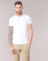 Clothing Men short-sleeved t-shirts BOTD ECALORA White