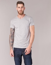 Clothing Men short-sleeved t-shirts BOTD ECALORA Grey / Mottled
