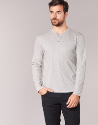 Clothing Men Long sleeved tee-shirts BOTD ETUNAMA Grey