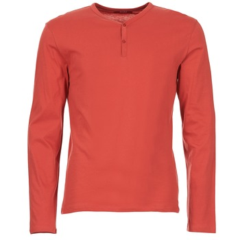 Clothing Men Long sleeved tee-shirts BOTD ETUNAMA Red