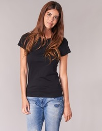 Clothing Women short-sleeved t-shirts BOTD EQUATILA Black