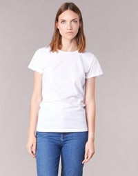 Clothing Women short-sleeved t-shirts BOTD EQUATILA White