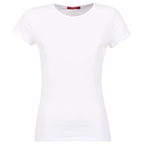 Clothing Women Short-sleeved t-shirts BOTD EQUATILA White