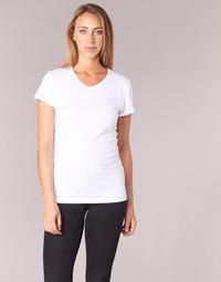 Clothing Women short-sleeved t-shirts BOTD EFLOMU White