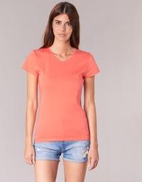 Clothing Women short-sleeved t-shirts BOTD EFLOMU Orange