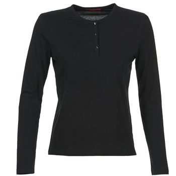 Clothing Women Long sleeved tee-shirts BOTD EBISCOL Black