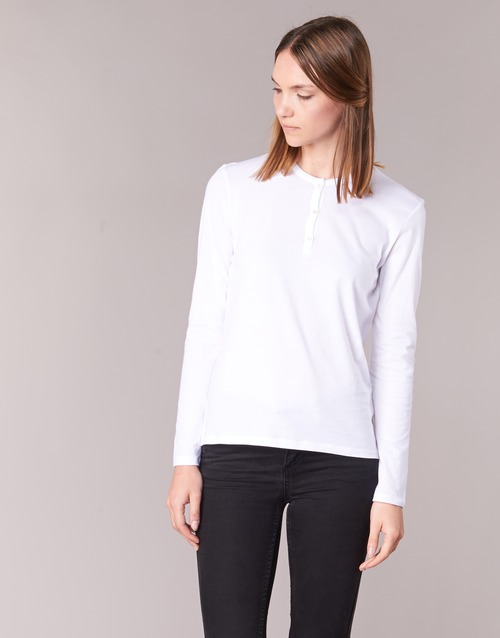 Clothing Women Long sleeved tee-shirts BOTD EBISCOL White