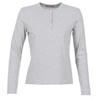 Clothing Women Long sleeved tee-shirts BOTD EBISCOL Grey / Mottled